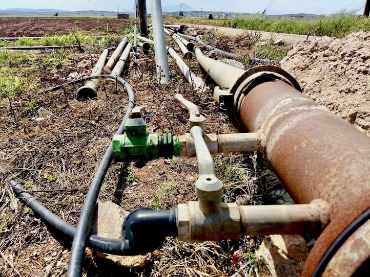 Irrigation coton biologique et conventionnel consommation en eau impact
