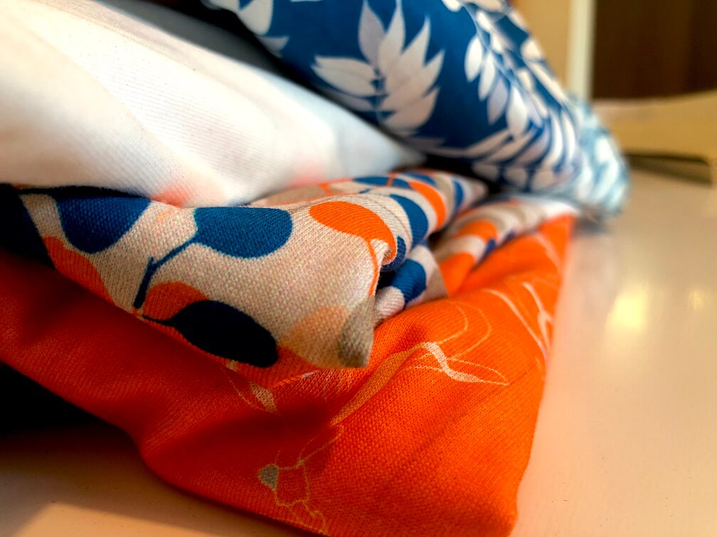 Mars-ELLE tissu biologique coton jersey organic fabric