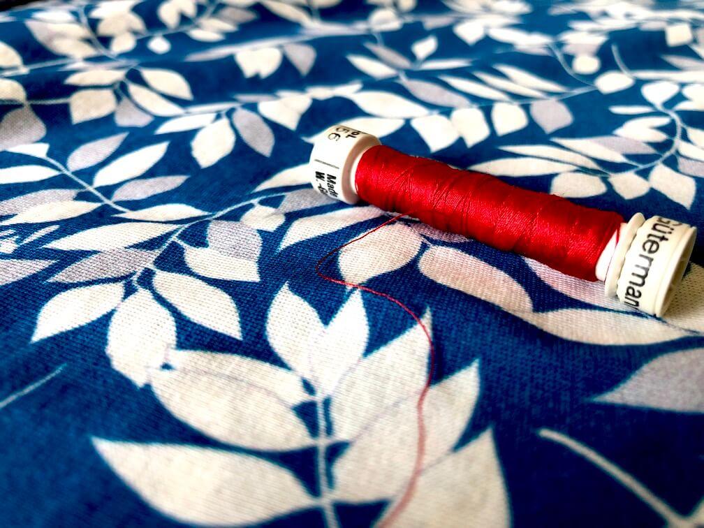 Mars-elle tissu biologique jersey coton bio couture tissu au mètre
