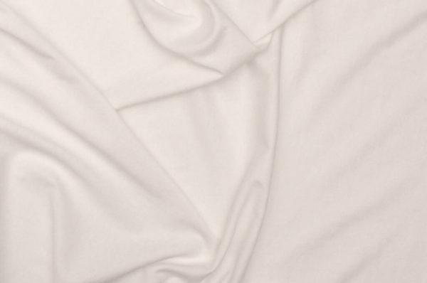 tissu bio biologique GOTS éthique durable couture au mètre mars-elle uni jersey blanc coton