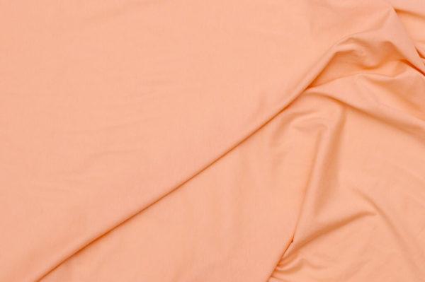 tissu bio biologique GOTS éthique durable couture au mètre mars-elle uni jersey rose poudre