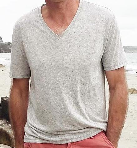 patron de couture gratuit facile débutant jersey tshirt homme