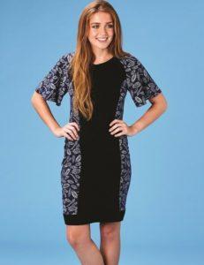 patron de couture gratuit facile débutant jersey robe jeanette