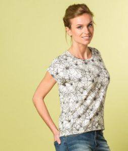 patron de couture gratuit facile débutant jersey t-shirt la maison victor