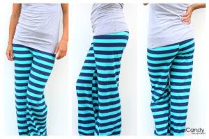 patron de couture gratuit facile débutant jersey pantalon pyjama