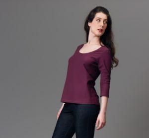 plantain patron de couture gratuit facile débutant jersey