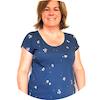 tissu bio jersey biologique mars-elle motif Nabel couture