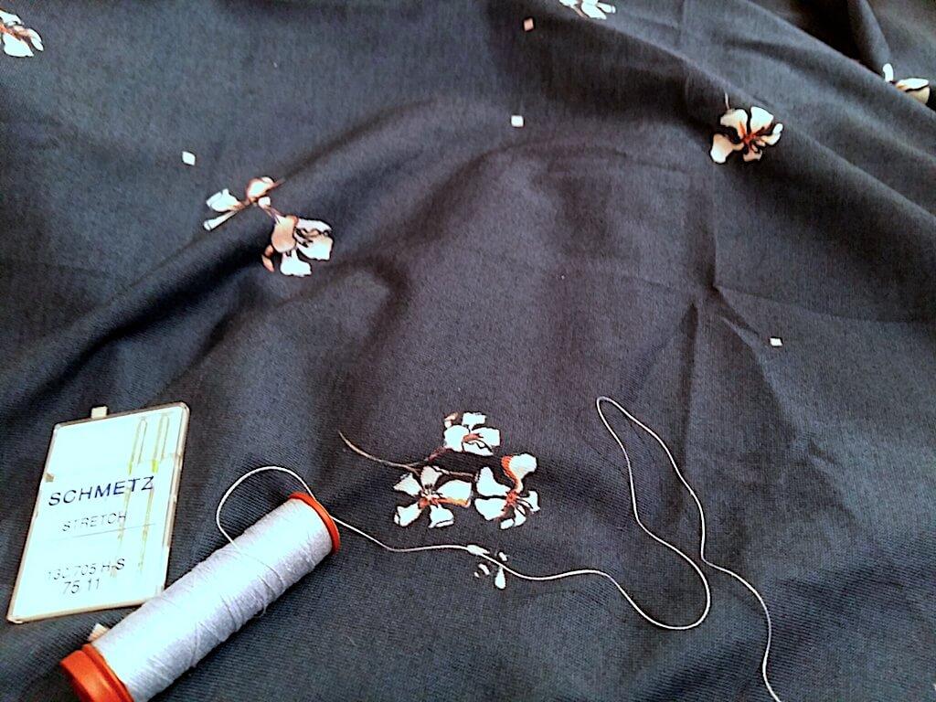 Les 5 astuces pour coudre le jersey bio 100% coton sans encombre