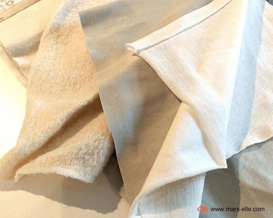 creation textile tissu biologique molleton GOTS Mars-ELLE