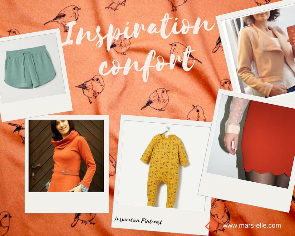 Inspiration couture avec du molleton tutoriel facile