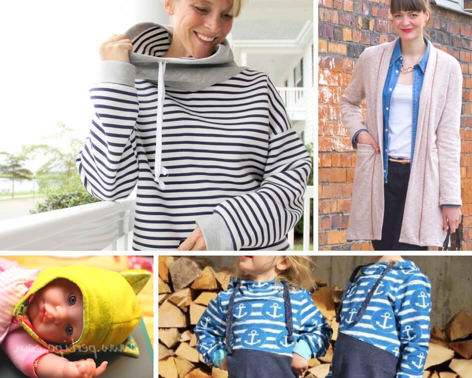 patron couture gratuit molleton tutoriel débutant sweat jogging enfant femme bébé débutant