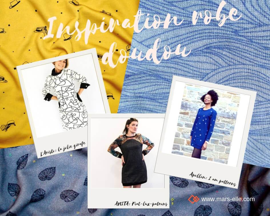 Inspiration couture avec du molleton tutoriel facile robe