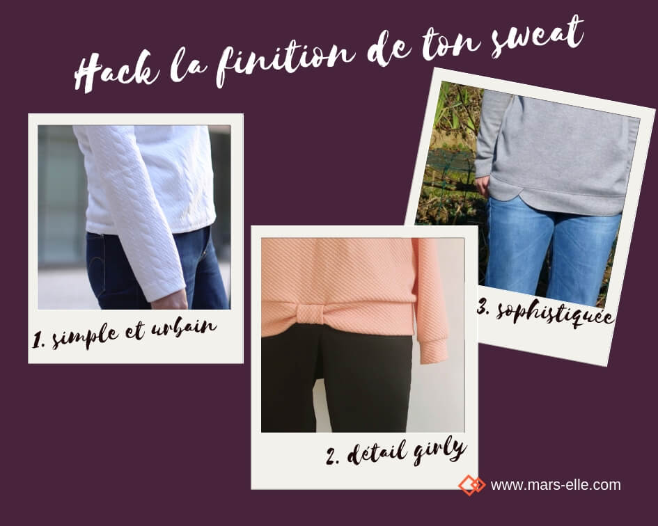 tutoriel hack modification patron couture sweat molleton bio mars-elle