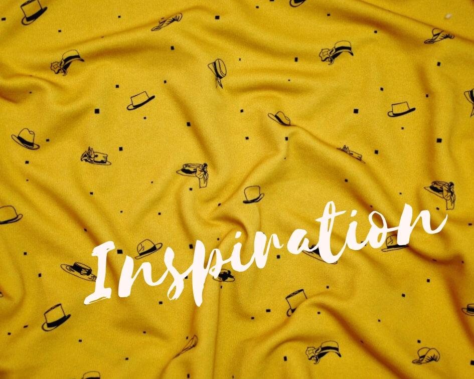 tissu bio sweat molleton biologique 100% coton sweat-shirt couture écologique vendu au mètre jaune moutarde motif enfant fille garçon GOTS