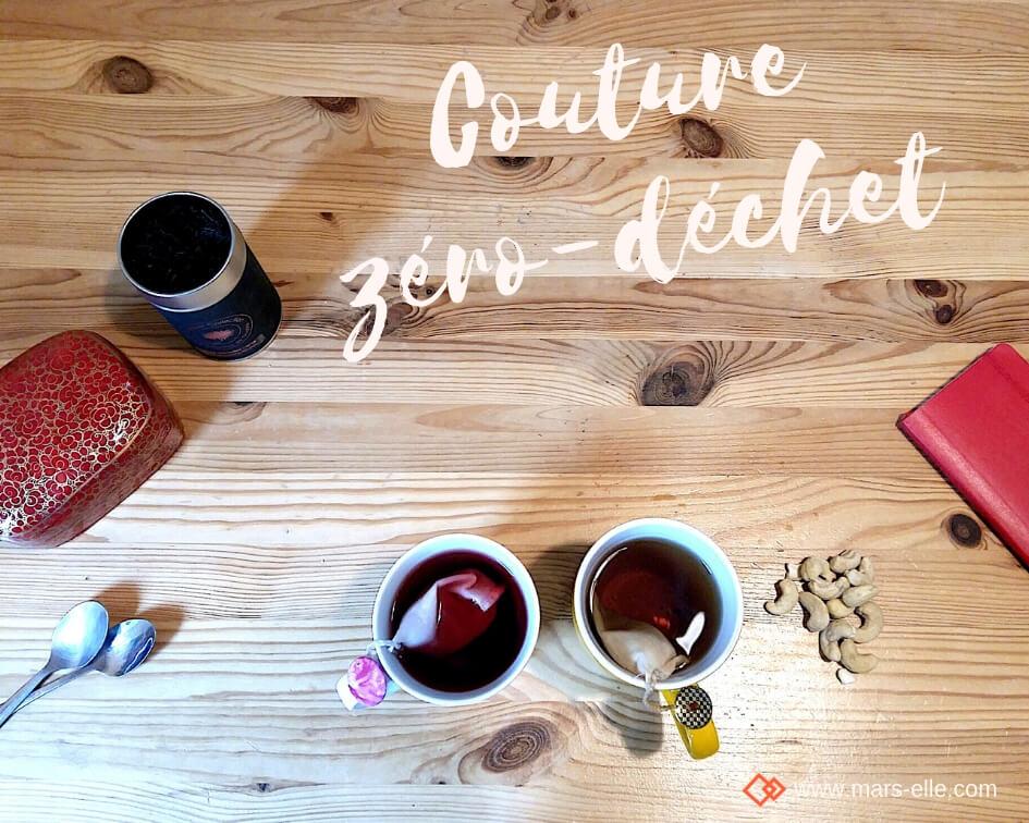tuto couture débutant facile sachet de thé zéro-déchet kit DIY couture facile patron gratuit tissu bio