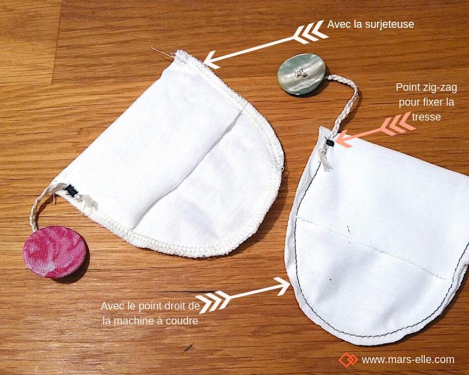 """Petit : /""""petit quelque chose/"""" Réutilisable. 100/% coton blanc Sac Cadeau"""