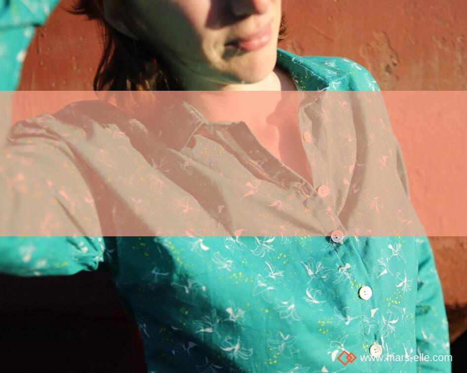 [Tuto Tissu] : La popeline dans ses moindres détails