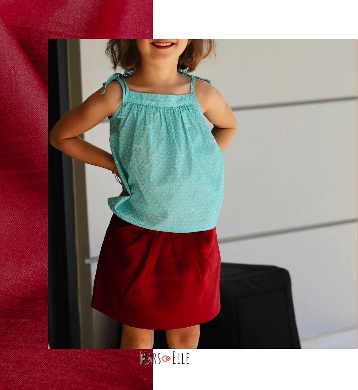 lin oekotex vendu au mètre mars-elle tissu bio naturel jaune rouge écru gris kaki patron couture enfant