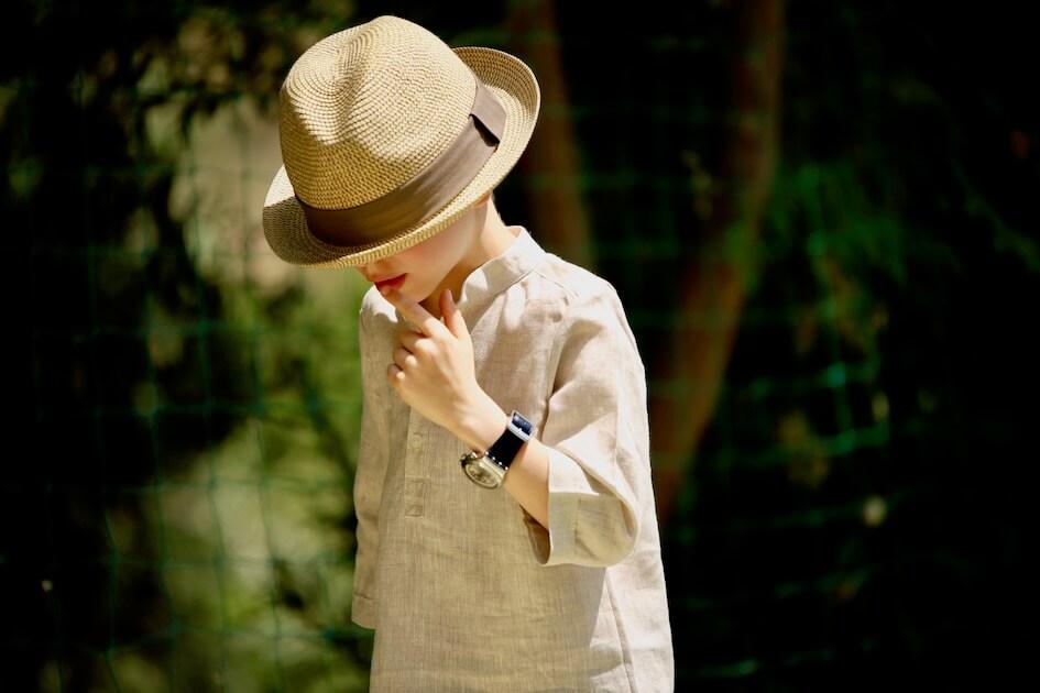lin oekotex vendu au mètre mars-elle tissu bio naturel jaune rouge écru gris kaki la maison victor patron couture enfant