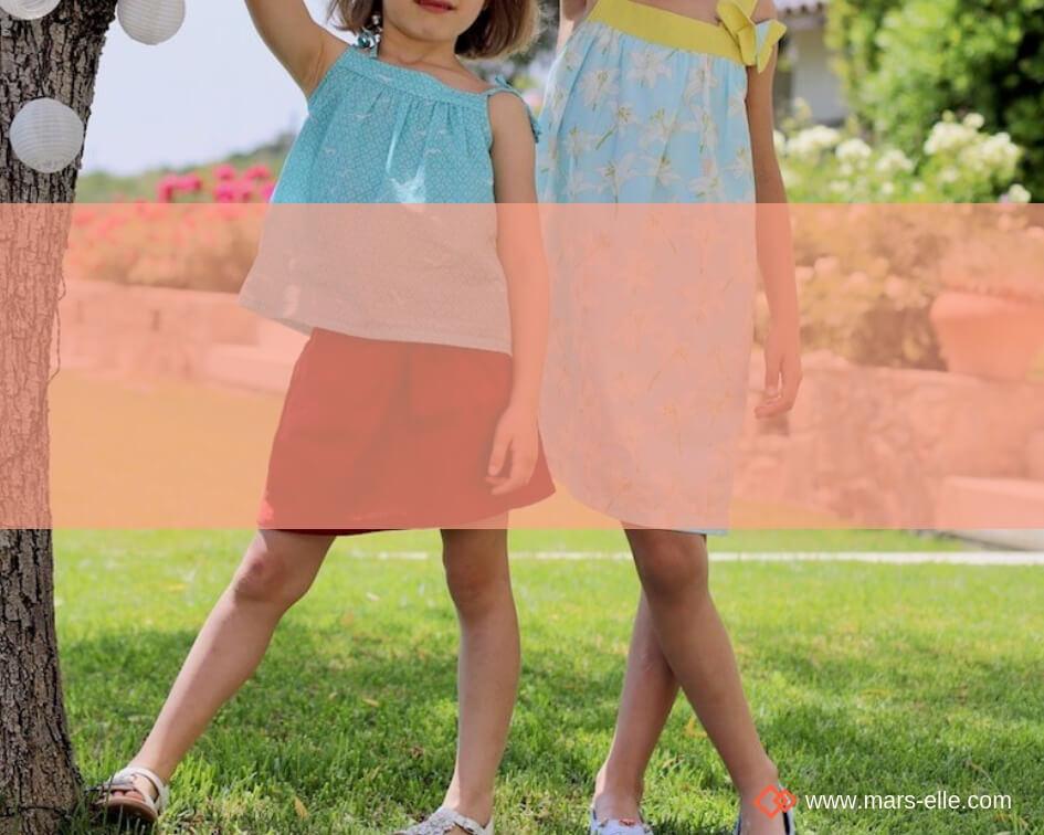 Lin Oeko-tex: Coutures estivales en Lin pour enfants