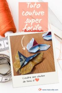 Tutoriel couture facile papillon pinterest tuto chute de tissu Mars-ELLE