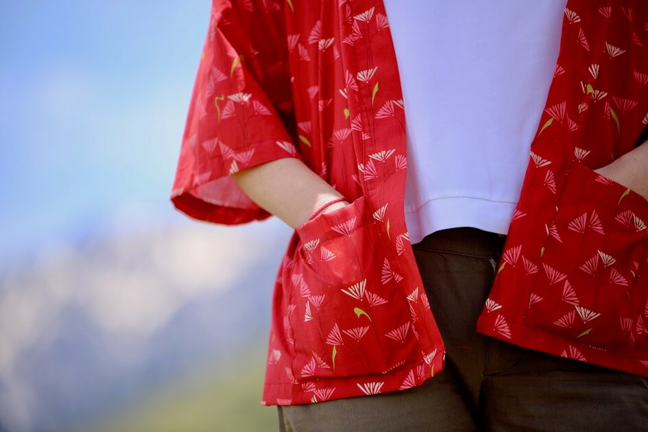 couture durable écologie slow couture tissu bio coton imprimé