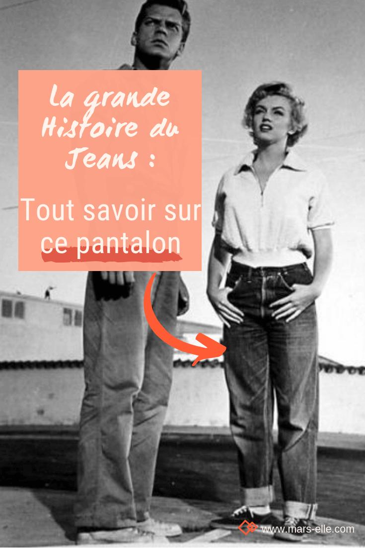 la grande histoire du Jeans Marilyn Monroe féminisme Mars-ELLE