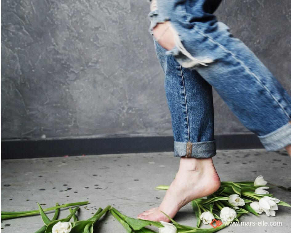 Impact pollution changement climatique production et elavage des Jeans coton bio Mars-ELLE.