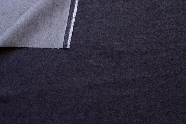 tissu denim épais Jeans brut coton bio Mars-ELLE