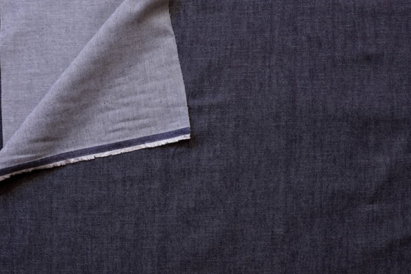tissu denim moyen Jeans brut coton bio Mars-ELLE