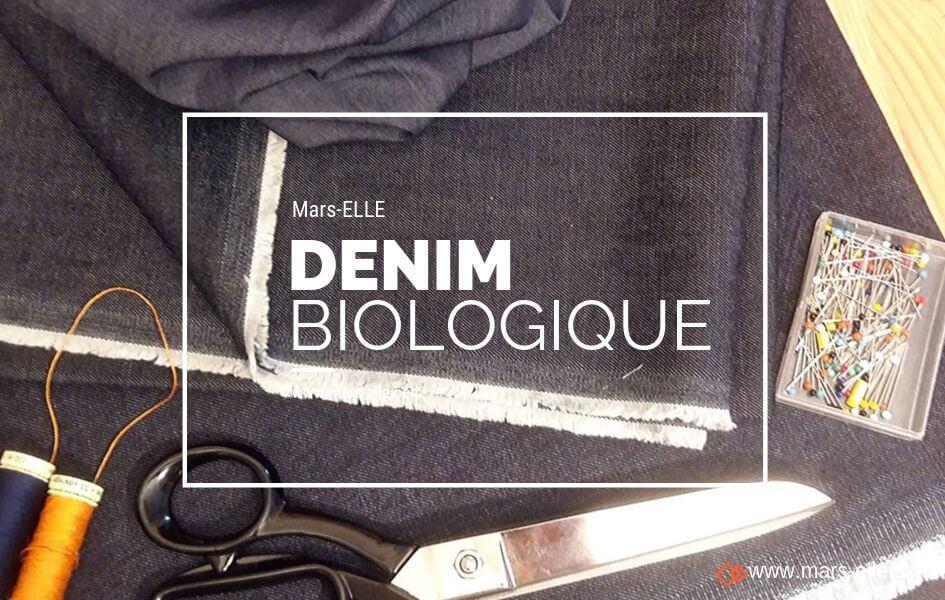 denim jeans bio coton biologique bleu foncé mars-elle