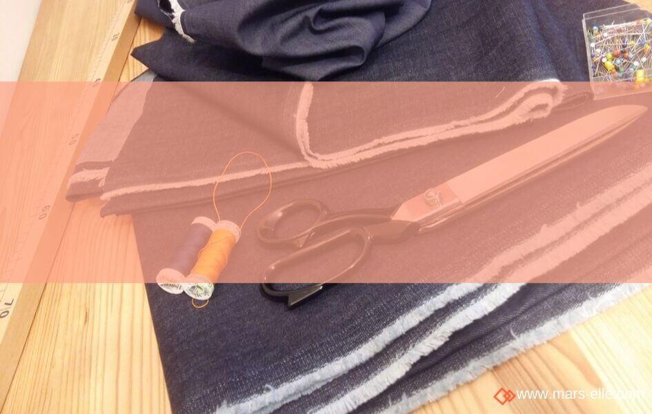 Un Jeans et une chemise : la couture couleur Indigo