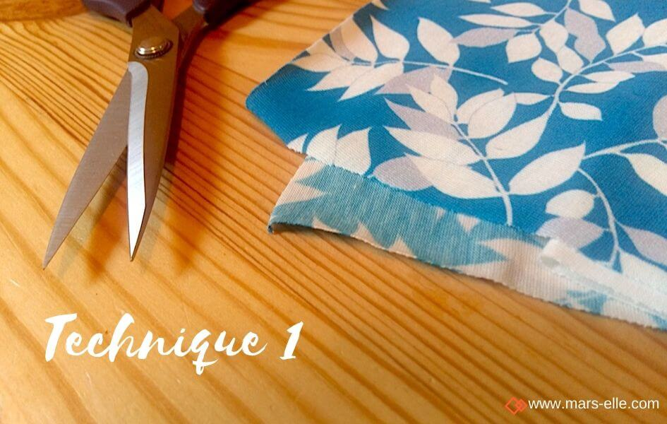 tuto couture mouchoir en tissu mars-elle tissu coton bio
