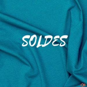 jersey tissu bio bleu marin