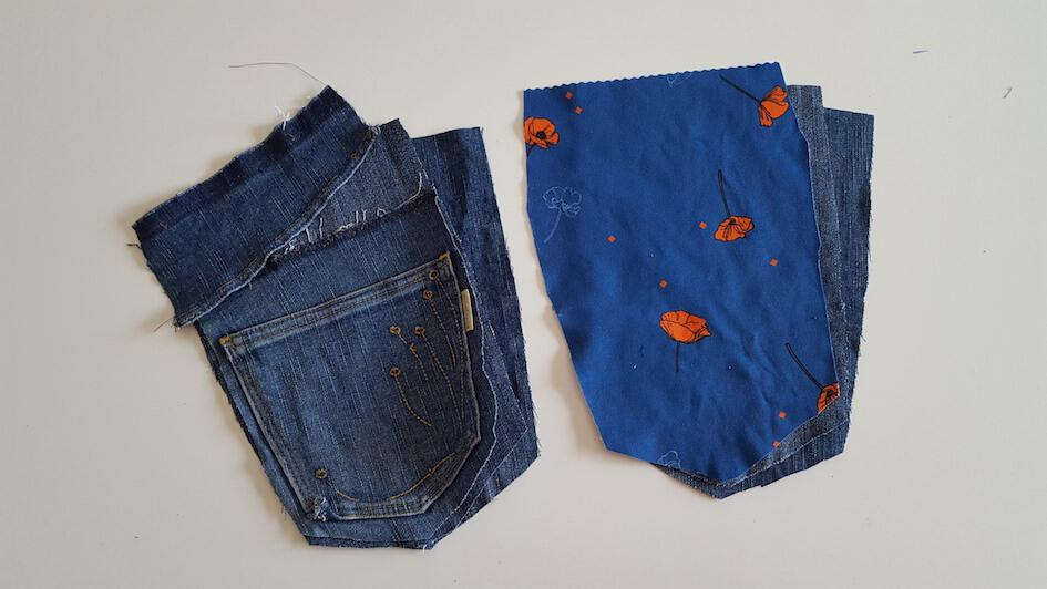 tutoriel couture jeans recyclage manique cuisine mars-elle tissu bio