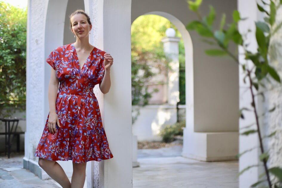 couture robe été tissu bio