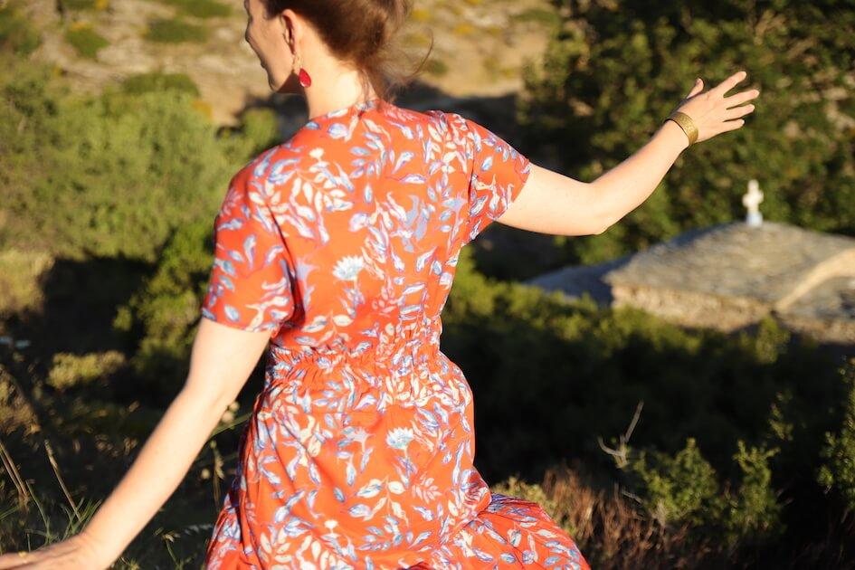 couture robe tissu bio