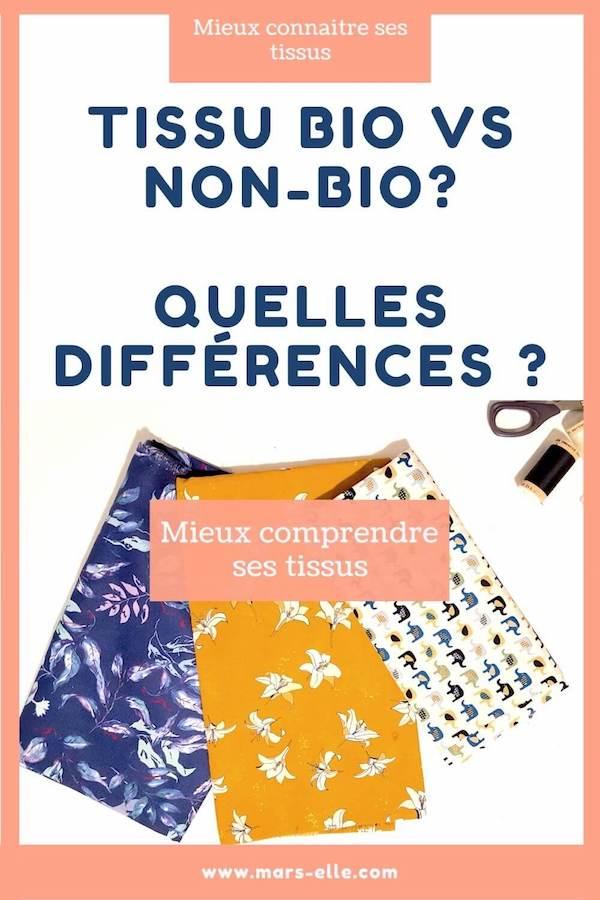 tissu bio ou tissu non bio définition