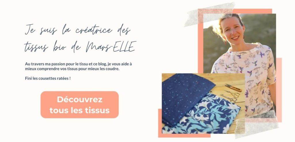 Mars-ELLE tissu bio GOTS