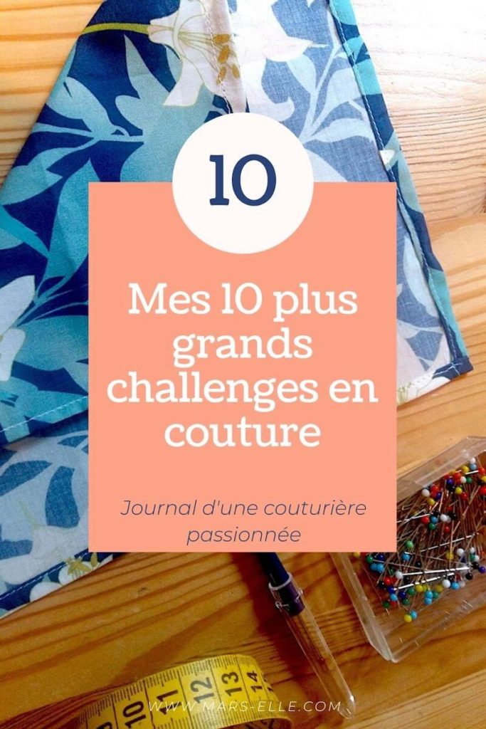 Challenge couture tuto blog couture