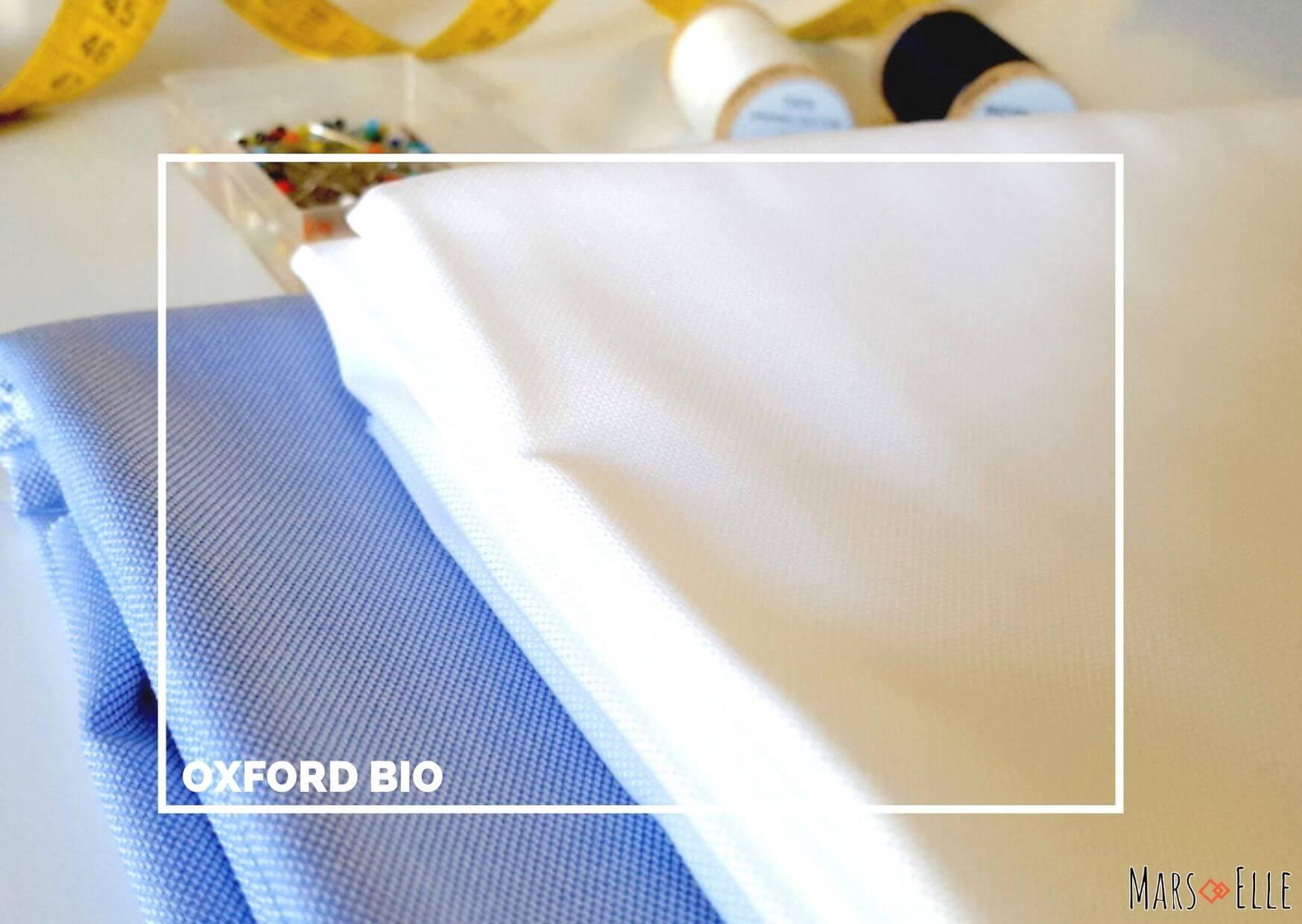 tissu bio oxford Mars-ELLE