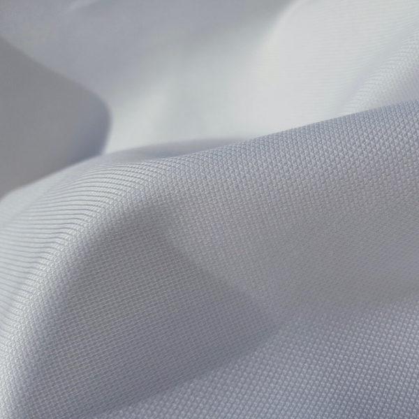 tissu bio oxford blanc
