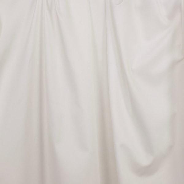 tissu bio oxford coton banc