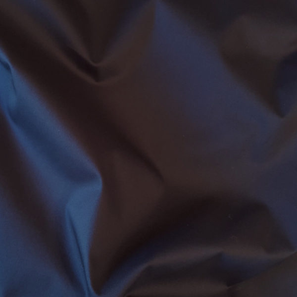tissu bio sergé fin bleu nuit