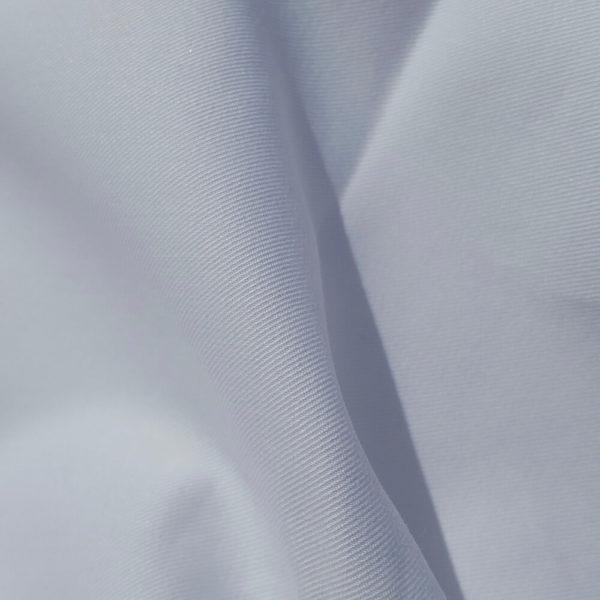 tissu bio sergé léger blanc