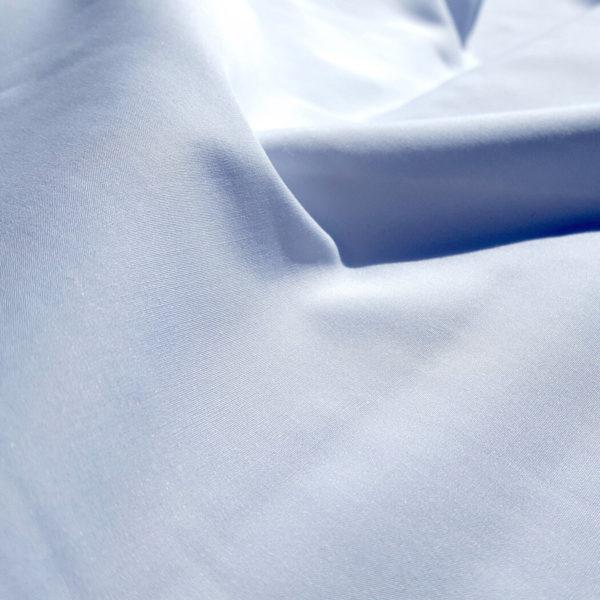 tissu bio blanc au mètre popeline