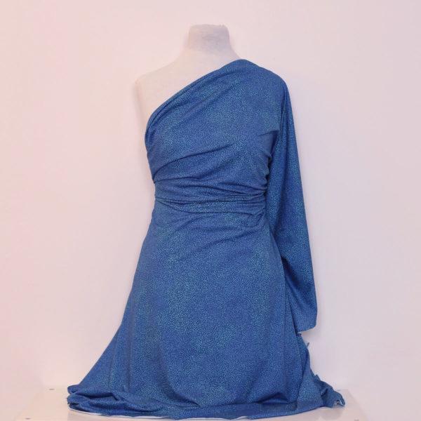 jersey bio bleu classique imprimé Mars-Elle