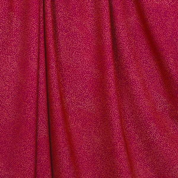 jersey bio fushia coton giboulées Mars-Elle