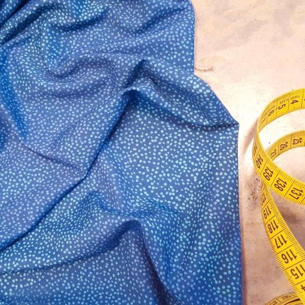 jersey bio imprimé bleu