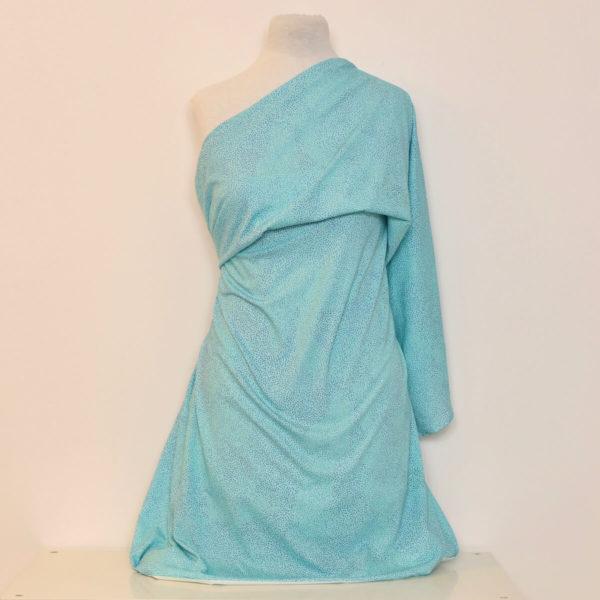 jersey bio turquoise coton